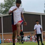 Long jump Sports Day 2021