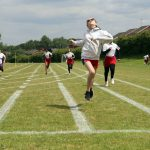 Finish line Sports Day 2021